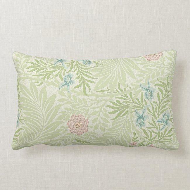 William Morris - Larkspur - Pink Flowers & Leaves