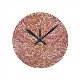 William Morris Larkspur Round Clock