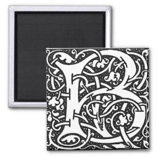 William Morris Letter B - Magnet
