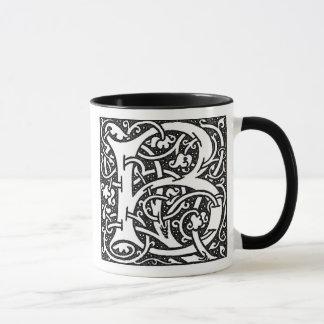 William Morris Letter 'B' - Mug