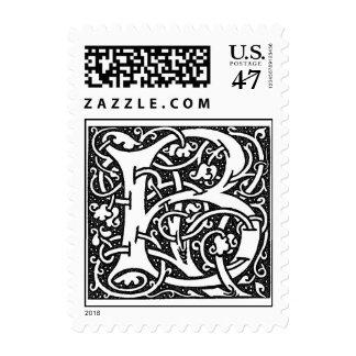 William Morris Letter 'B' Postage
