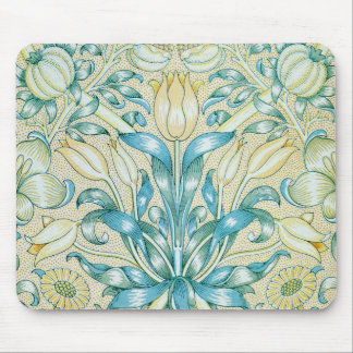 William Morris Lily and Pomegranate Pattern Mouse Pad