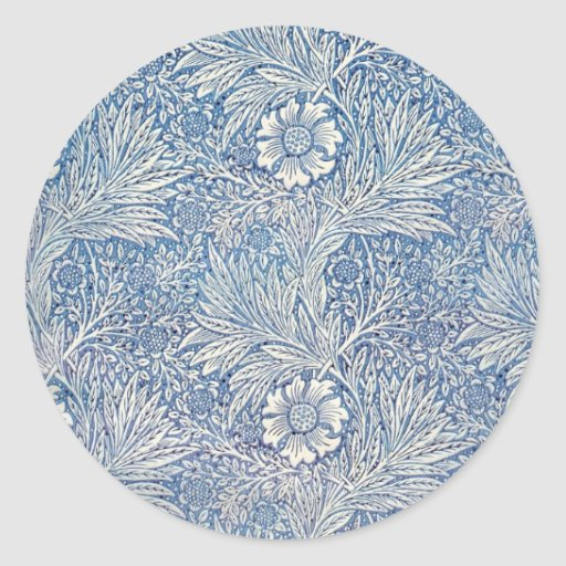William Morris Marigold - Sticker