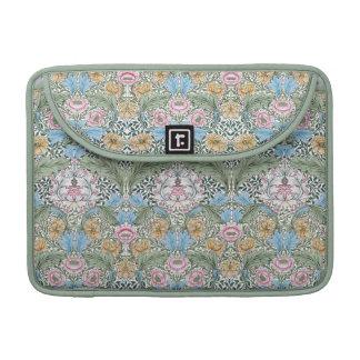 "William Morris Myrtle 13"" Floral Chintz Pattern Sleeve For MacBooks"
