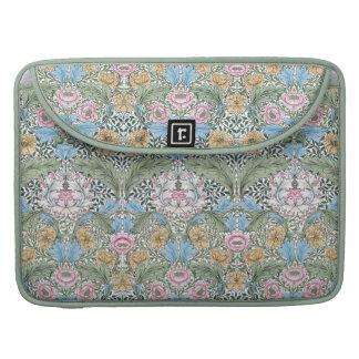 "William Morris Myrtle 15"" Floral Chintz Pattern Sleeve For MacBooks"