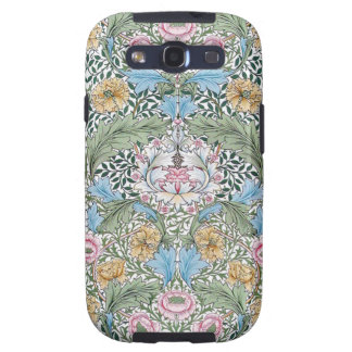 William Morris Myrtle Floral Chintz Pattern Samsung Galaxy S3 Cases