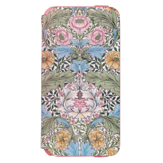 William Morris Myrtle Floral Chintz Pattern Incipio Watson™ iPhone 6 Wallet Case