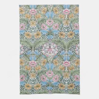 William Morris Myrtle Floral Kitchen Tea Towel