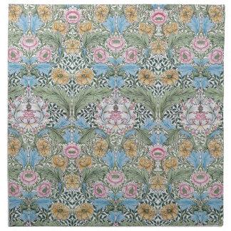 William Morris Myrtle Floral Pattern Napkin Set