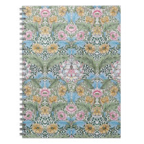William Morris Myrtle Floral Pattern Notebook
