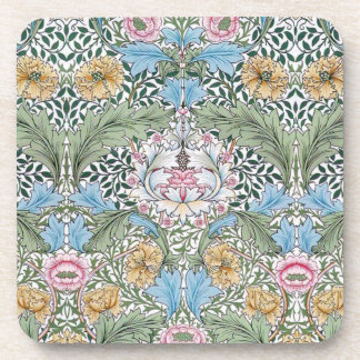William Morris Myrtle Pattern Cork Coaster Set