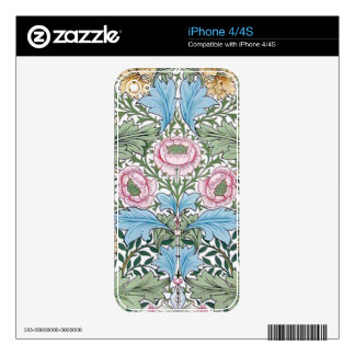 William Morris Myrtle Rose Chintz IPhone 4/4S Skin Skins For The iPhone 4S