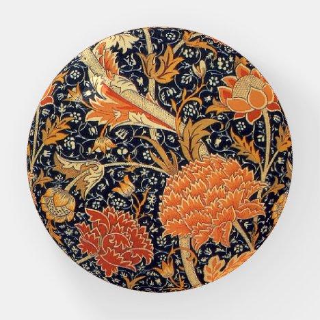 William Morris, Orange Flowers Paperweight