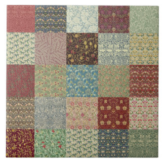 William Morris Patchwork Quilt Ceramics Ceramic Tile