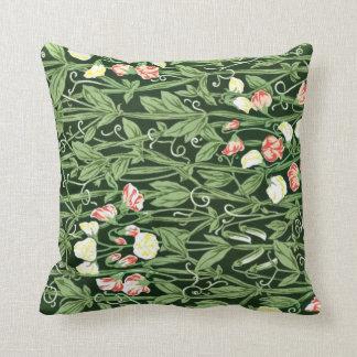 William Morris pattern, Sweetpea Throw Pillow