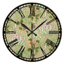 William Morris Pattern Wall Clock