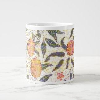 William Morris Peaches Wallpaper Large Coffee Mug
