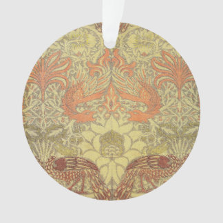 William Morris Peacock and Dragon Pattern Ornament