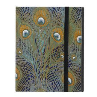 William Morris Peacock Feathers iPad Folio Case