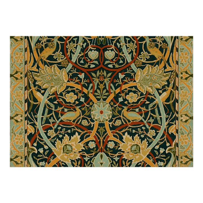 William Morris Persian Carpet Art Print