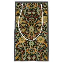 William Morris Persian Carpet Art Print Design Small Gift Bag