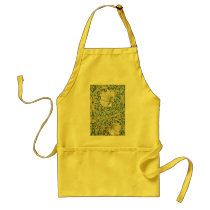 William Morris Pimpernel Floral Design Adult Apron