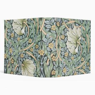 William Morris Pimpernel Floral Design Vinyl Binders