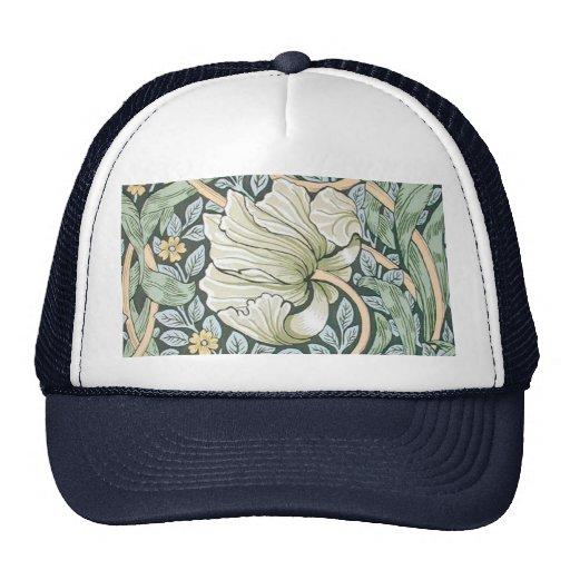 William Morris Pimpernel Floral Design Hats