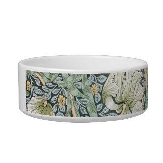 William Morris Pimpernel Floral Design Pet Bowls