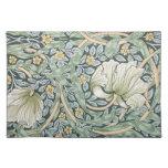 William Morris Pimpernel Floral Design Placemats