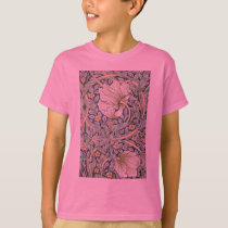 William Morris Pimpernel Floral Design T-Shirt
