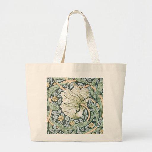 William Morris Pimpernel Floral Design Tote Bags