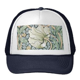 William Morris Pimpernel Floral Design Trucker Hat