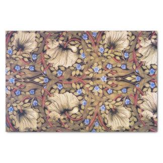 "William Morris Pimpernel Vintage Floral 10"" X 15"" Tissue Paper"