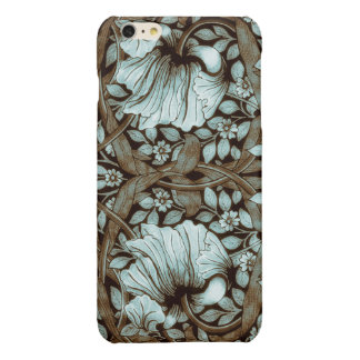 William Morris Pimpernel Vintage Floral Glossy iPhone 6 Plus Case