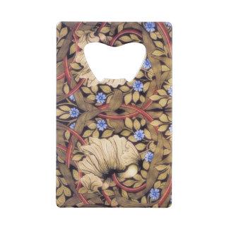 William Morris Pimpernel Vintage Floral Wallet Bottle Opener