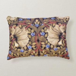 William Morris Pimpernel Vintage Floral Accent Pillow