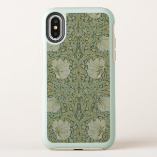 William Morris Pimpernel Vintage Pattern GalleryHD OtterBox Symmetry iPhone X Case