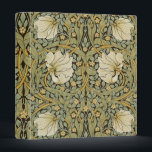 """William Morris Pimpernel Vintage Pre-Raphaelite 3 Ring Binder<br><div class=""""desc"""">William Morris Pimpernel Floral Vintage Art Wallpaper Design William Morris was an English textile designer, artist, writer, and socialist associated with the Pre-Raphaelite Brotherhood and British Arts and Crafts Movement. He founded a design firm in partnership with the artist Edward Burne-Jones, and the poet and artist Dante Gabriel Rossetti which...</div>"""