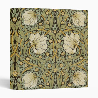 William Morris Pimpernel Vintage Pre-Raphaelite 3 Ring Binder