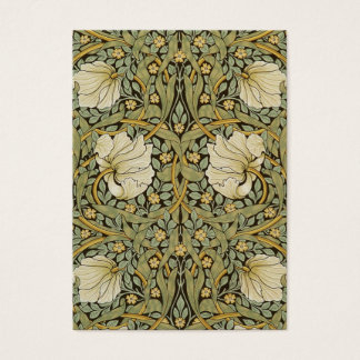 William Morris Pimpernel Vintage Pre-Raphaelite Business Card