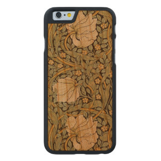 William Morris Pimpernel Vintage Pre-Raphaelite Carved Cherry iPhone 6 Slim Case