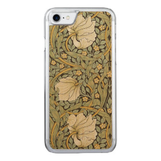 William Morris Pimpernel Vintage Pre-Raphaelite Carved iPhone 8/7 Case