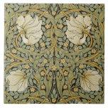 William Morris Pimpernel Vintage Pre-raphaelite Ceramic Tile at Zazzle