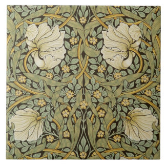 William Morris Pimpernel Vintage Pre-Raphaelite Ceramic Tile