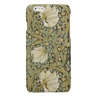 William Morris Pimpernel Vintage Pre-Raphaelite Glossy iPhone 6 Case