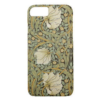 William Morris Pimpernel Vintage Pre-Raphaelite iPhone 7 Case