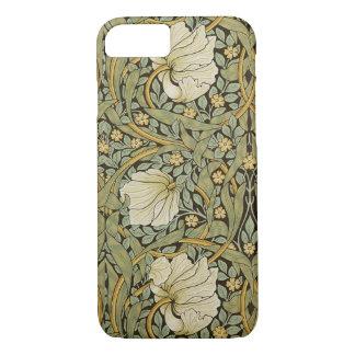 William Morris Pimpernel Vintage Pre-Raphaelite iPhone 7 Case