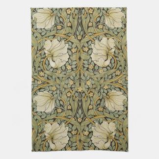 William Morris Pimpernel Vintage Pre-Raphaelite Kitchen Towel
