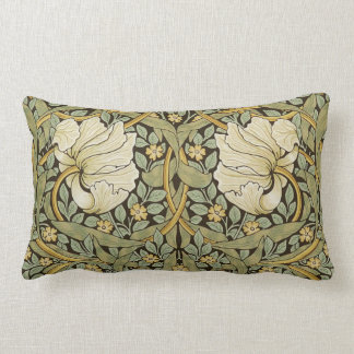 William Morris Pimpernel Vintage Pre-Raphaelite Lumbar Pillow
